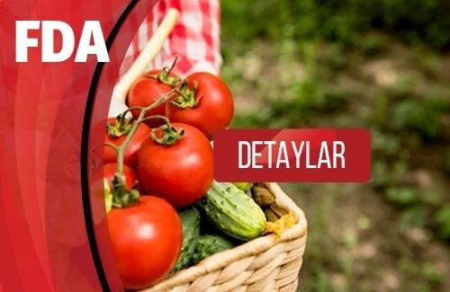 FDA Gıda ve Alerjen Etiketleme Gereklilikleri FDA Nedir?