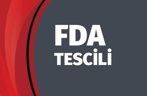 FDA Tescili