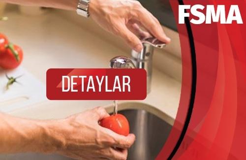 FSMA Gıda Hijyeni Uygulamaları