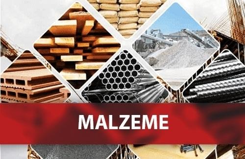 GRI 301: MALZEMELER